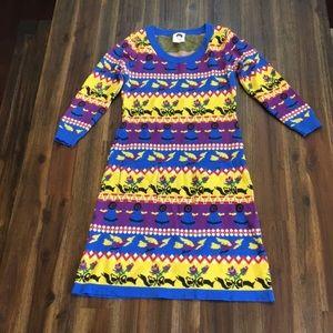 Betsey Johnson punk label reissue sweater dress